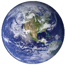 NASA image - The blue marble